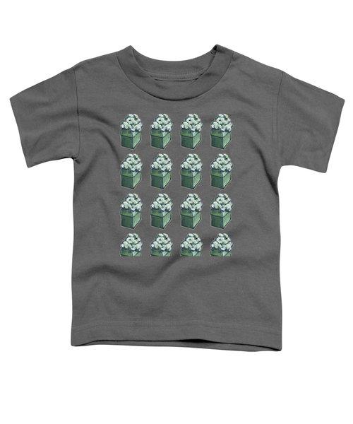 Green Present Pattern Toddler T-Shirt