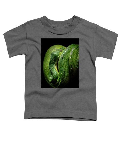 Green Tree Boa Toddler T-Shirt