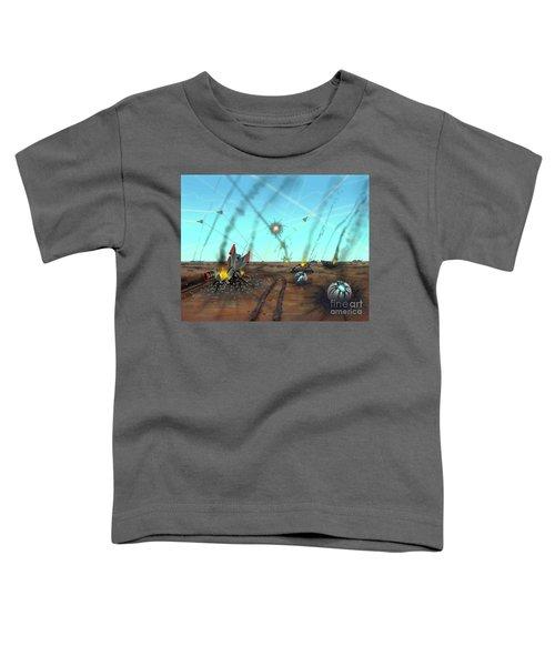Ground Battle Toddler T-Shirt