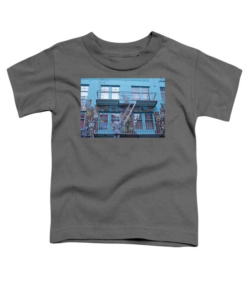 Guarding The Stairs Toddler T-Shirt