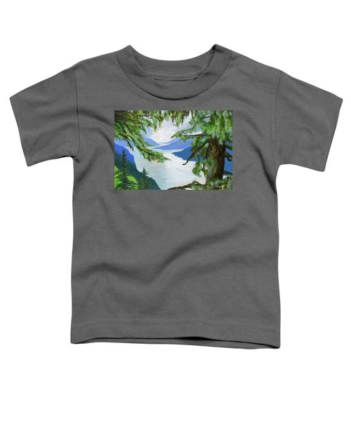 Guided Through The Fjords Toddler T-Shirt