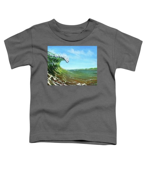 Gulf Of Mexico Surf Toddler T-Shirt
