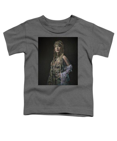 Gypsy Portrait Toddler T-Shirt