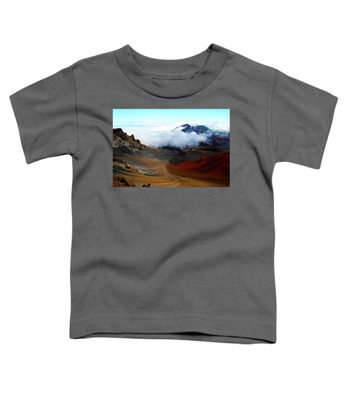 Haleakala Crater Toddler T-Shirt