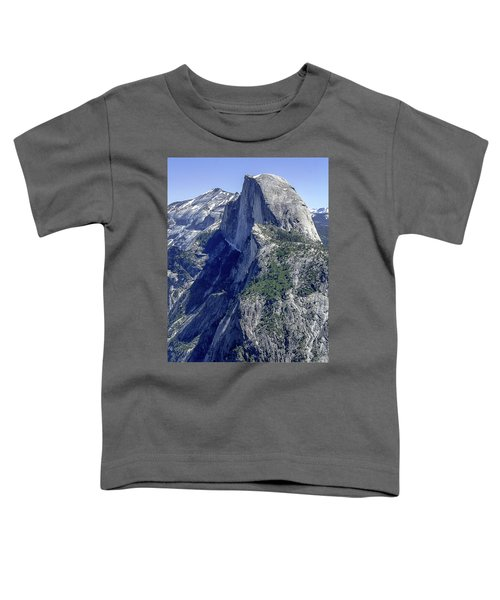 Half Dome From Glacier Point Toddler T-Shirt