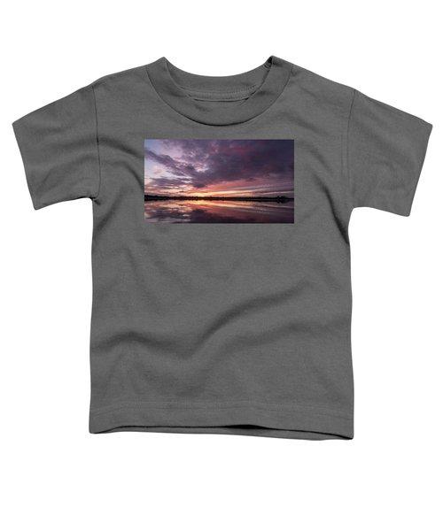 Halifax River Sunset Toddler T-Shirt