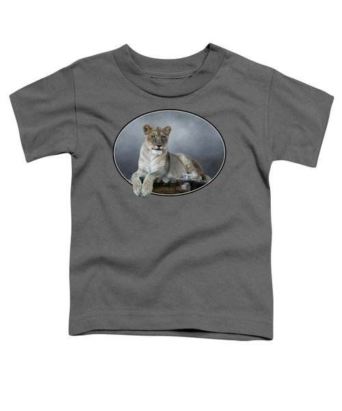 Happy Lioness Toddler T-Shirt