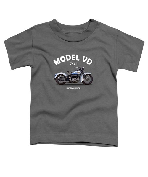 Harley Model Vd 1935 Toddler T-Shirt