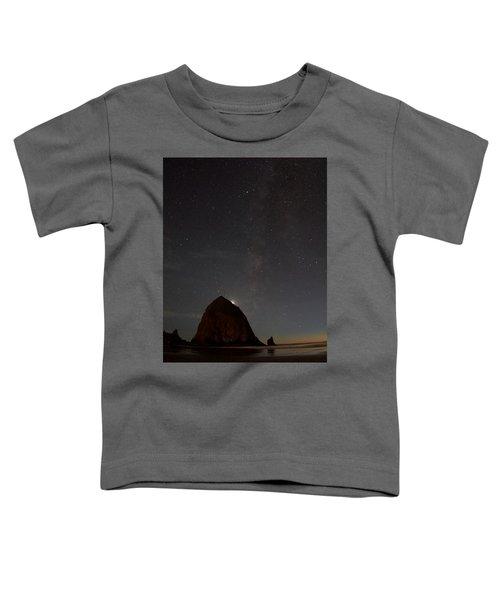 Haystack Night Under The Stars Toddler T-Shirt