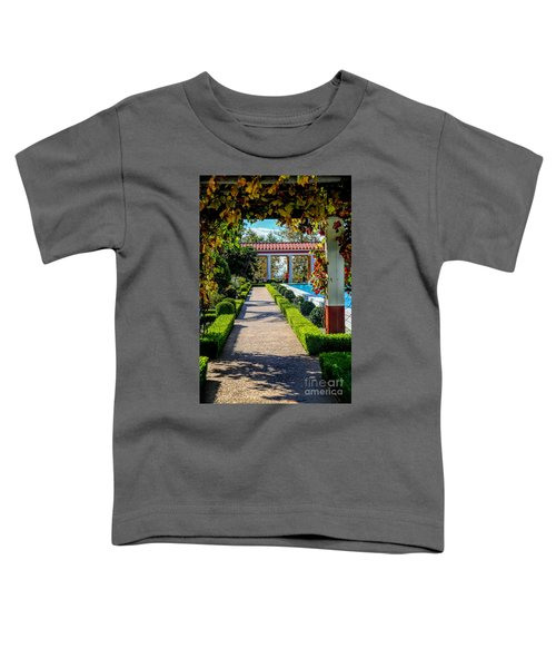 Hd Getty Pathway Villa California  Toddler T-Shirt