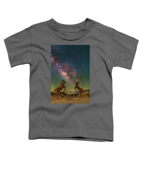 Head To Head With The Galaxy Toddler T-Shirt