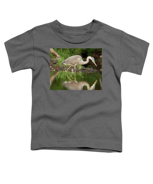 Heron Fishing Toddler T-Shirt