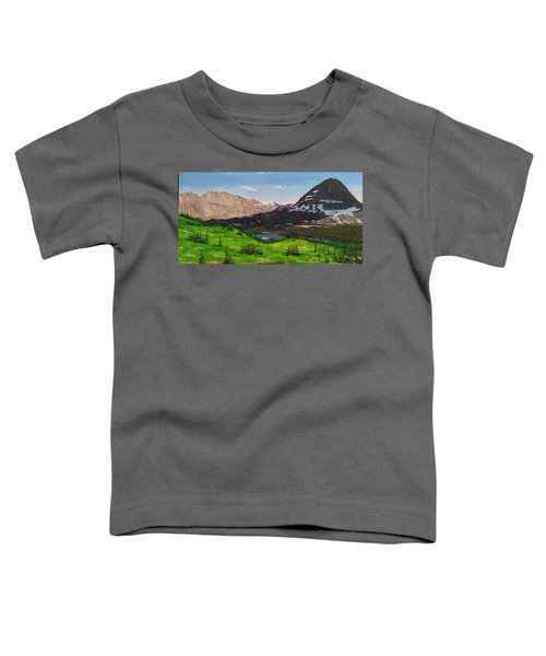 Hidden Lake Pass Toddler T-Shirt