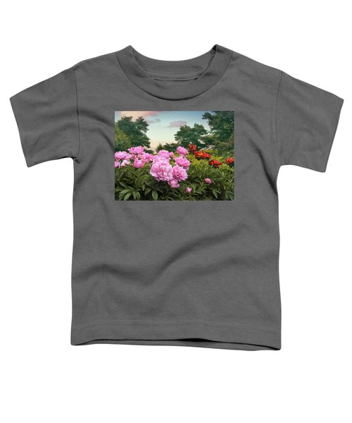 Hillside Peonies Toddler T-Shirt