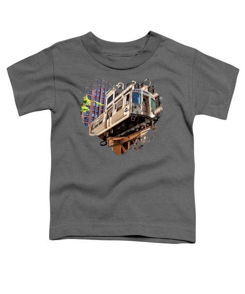 Historic Chicago El Train Toddler T-Shirt