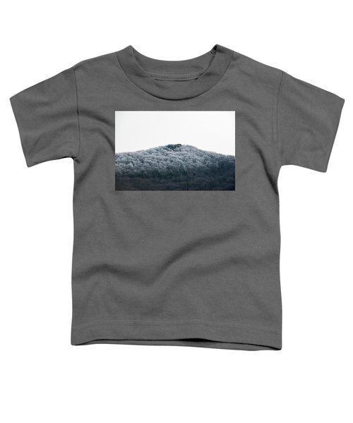Hoarfrost On The Mountain Toddler T-Shirt