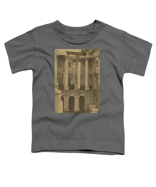 Hoisting Final Marble Column At United States Capitol Toddler T-Shirt