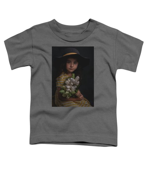 Holding The Tulips Toddler T-Shirt