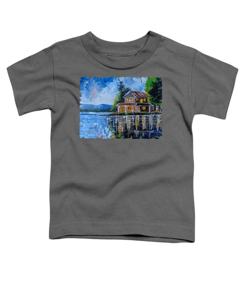 Home By The Lake Toddler T-Shirt