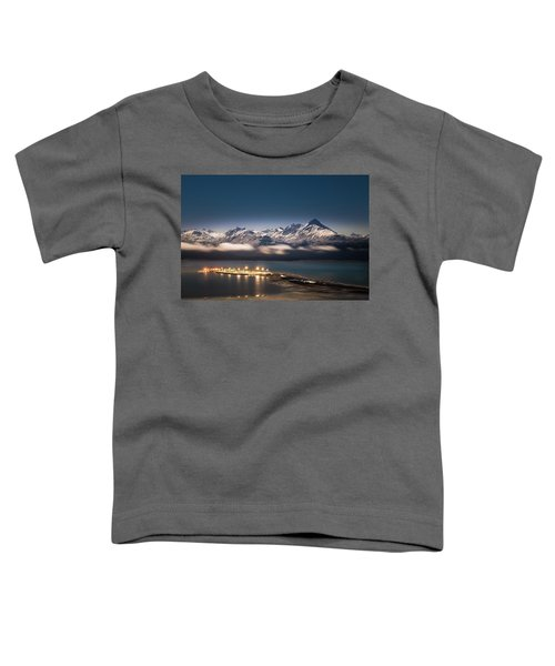 Homer Spit With Moonlit Mountains Toddler T-Shirt