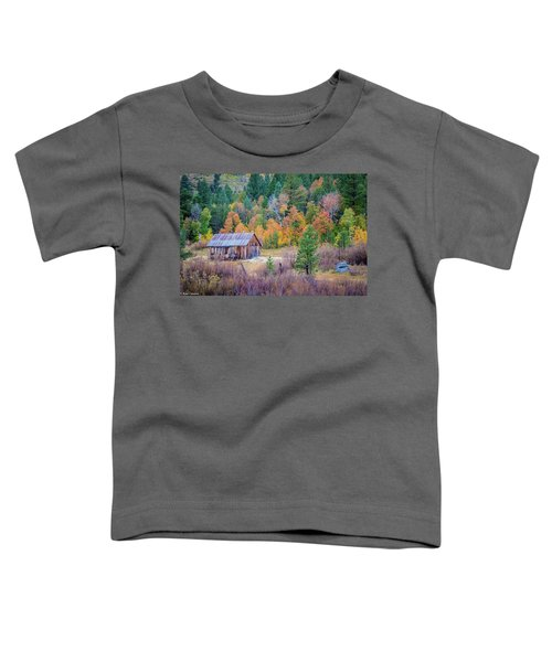Hope Valley Cabin Toddler T-Shirt