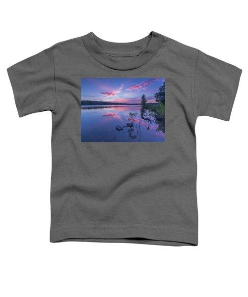 Horn Pond Sunset Toddler T-Shirt