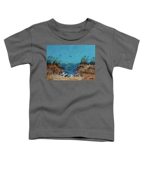 Horse Neck Toddler T-Shirt