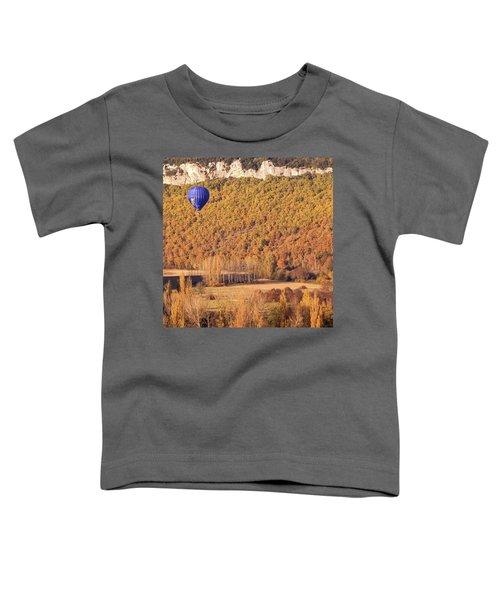 Hot Air Balloon, Beynac, France Toddler T-Shirt