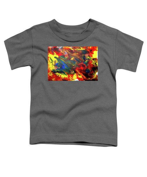 Hot Colors Coolling Toddler T-Shirt
