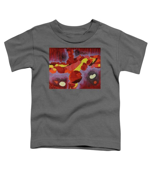 Hot Red Toddler T-Shirt