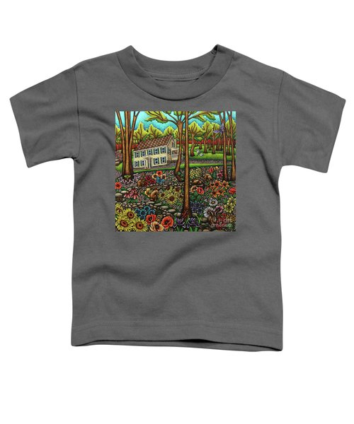 House In The Meadow  Toddler T-Shirt