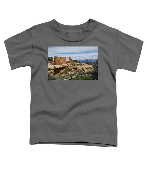 Hovenweep Castle Toddler T-Shirt