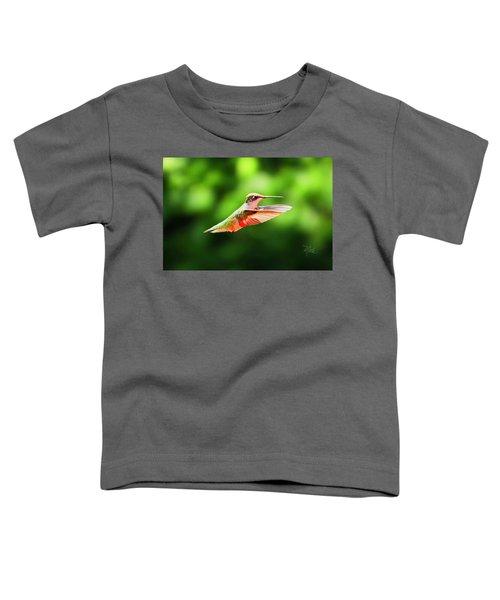 Hummingbird Flying Toddler T-Shirt