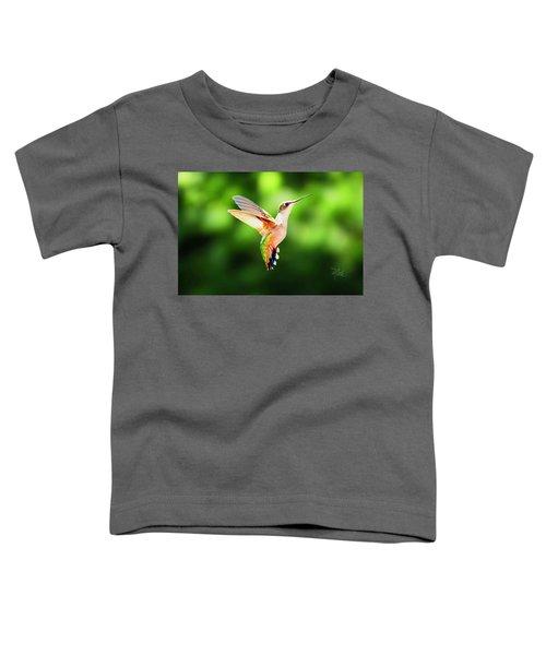 Hummingbird Hovering Toddler T-Shirt
