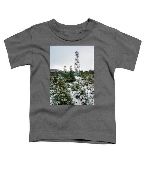 Hunter Mountain Fire Tower Toddler T-Shirt