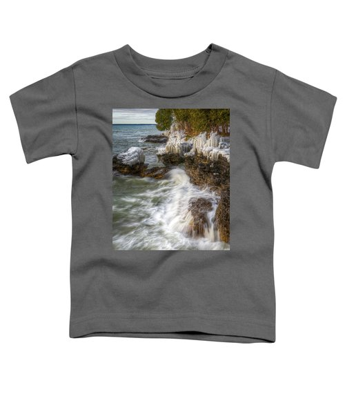 Ice And Waves Toddler T-Shirt
