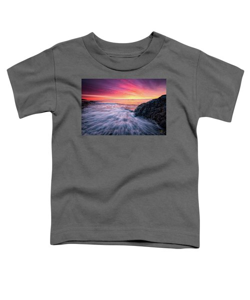 In The Beginning There Was Light Toddler T-Shirt