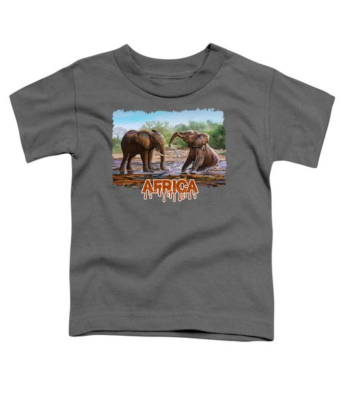 In The Muddy Pool Toddler T-Shirt