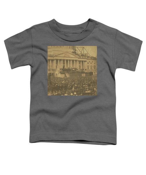 Inauguration Of Abraham Lincoln, March 4, 1861 Toddler T-Shirt