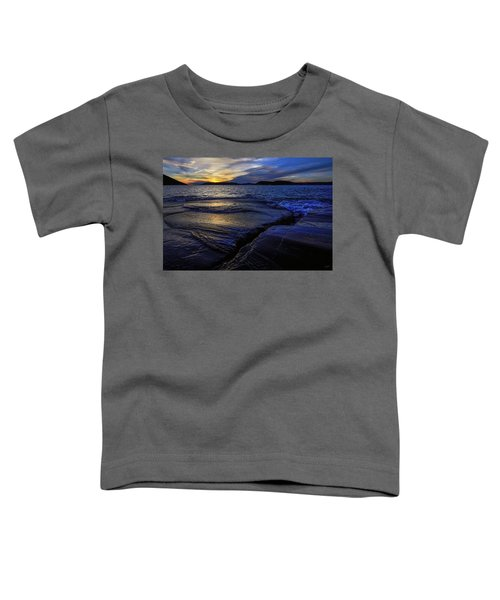 Toddler T-Shirt featuring the photograph Indigo by Doug Gibbons