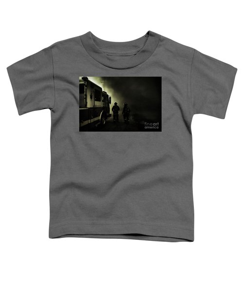 Into The Fight Toddler T-Shirt