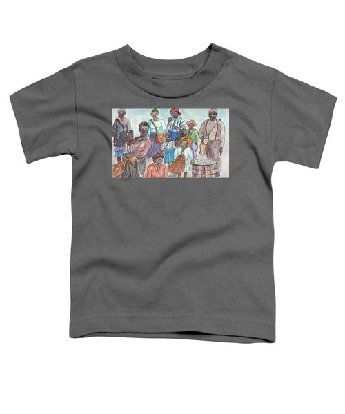 It's Cotton Picking Time At The Spangler Farm In South Alabama Toddler T-Shirt