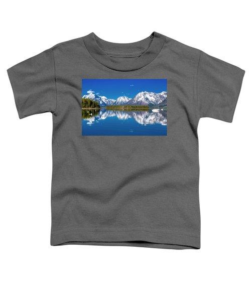 Jackson Lake Toddler T-Shirt