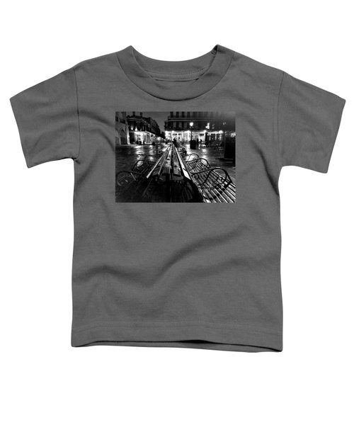 Jackson Square In The Rain Toddler T-Shirt