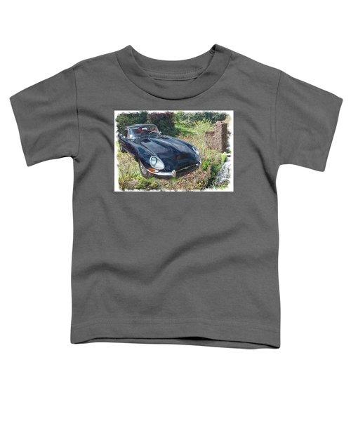 Jaguar E Type Toddler T-Shirt