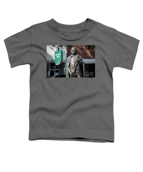 James Brown Statue - Augusta Ga Toddler T-Shirt