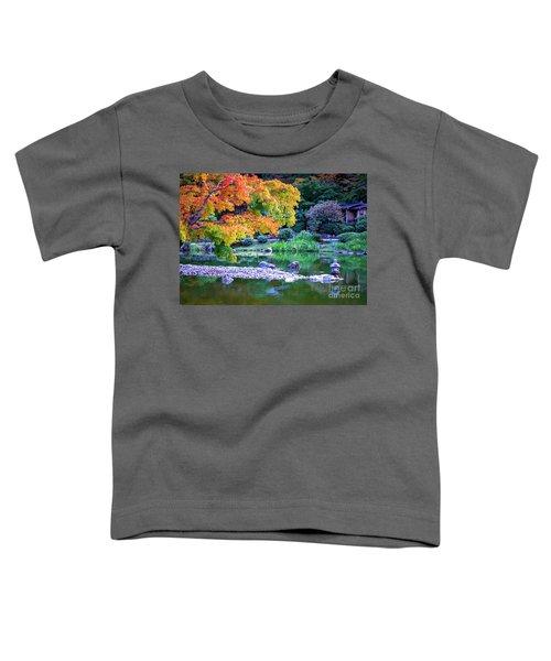 Japanese Garden Toddler T-Shirt