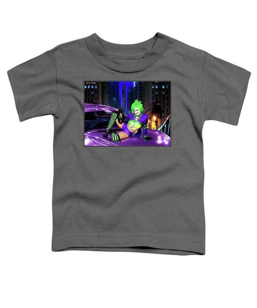 Joker The Color Purple Toddler T-Shirt