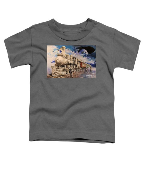 Journey Through The Mists Of Time Toddler T-Shirt