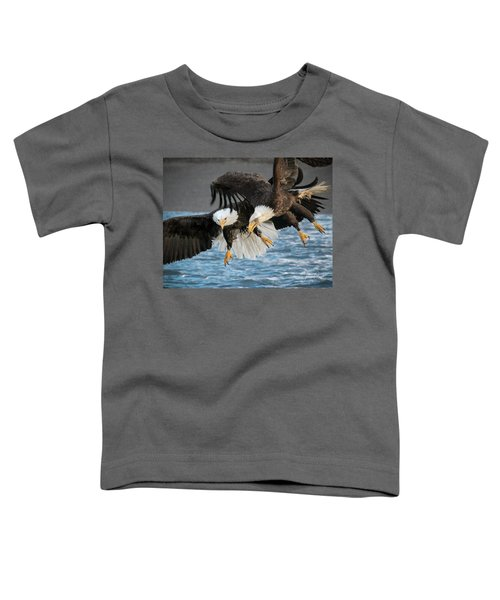 Jousting Eagles Toddler T-Shirt
